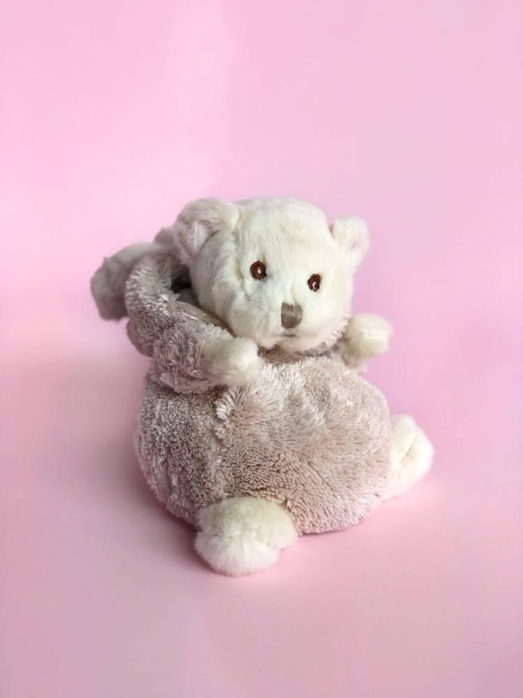 Игрушка Медвежонок Зигги в костюме зайца, 15 см