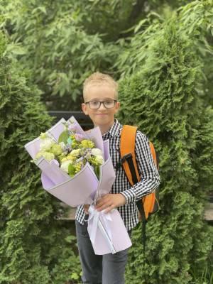 Букет Сливовый Сад - заказ и доставка цветов Киев