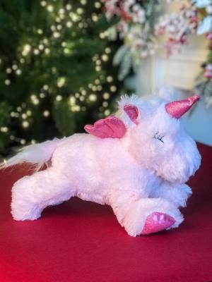 Мягкая игрушка Единорог лежачий в ассортименте,... - заказ и доставка цветов Киев