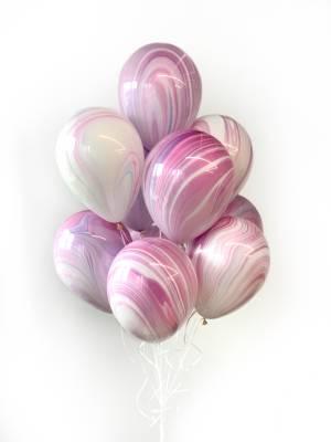 Букет шаров Лиловый Агат - заказ и доставка цветов Киев