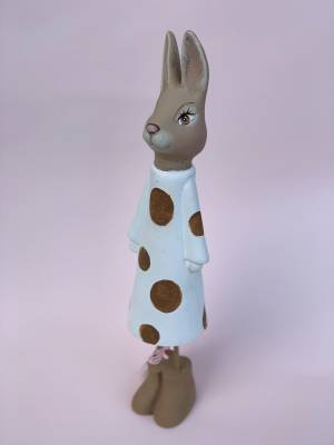 Мр.Кролик у сукні, 37см-беж - заказ и доставка цветов Киев