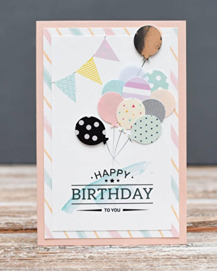 Открытка Happy Birthday