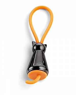 Брелок для ключів Котик чорний - заказ и доставка цветов Киев