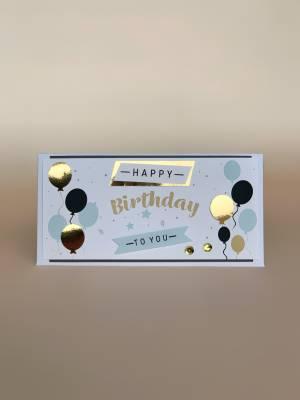 Конверт Happy Birthday to you - заказ и доставка цветов Киев