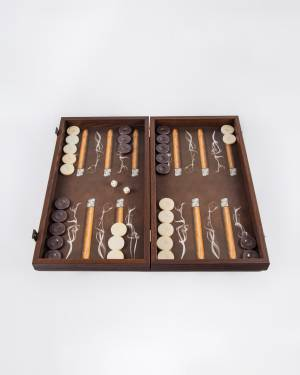 Нарды ручной работы деревянные с рисунком сигар... - заказ и доставка цветов Киев