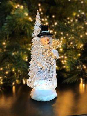 Снеговик акриловый с таймером, 29.5 см - заказ и доставка цветов Киев