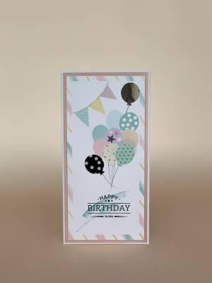 Конверт Happy Birthday - заказ и доставка цветов Киев