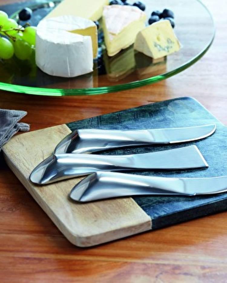 Набор ножей для сыра из 3 шт