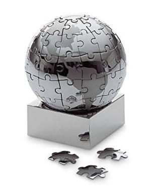 Пазл-глобус Extravaganza, диаметр 7,5 см - заказ и доставка цветов Киев