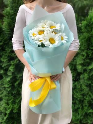 Букет 11 ромашек - заказ и доставка цветов Киев